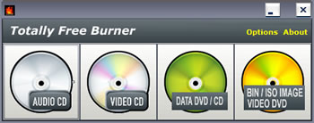 Totally Free Burner - Free Burning Software